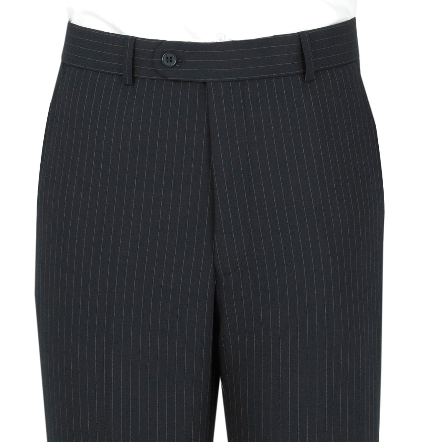 Navy Pinstripe 3 Piece Scott