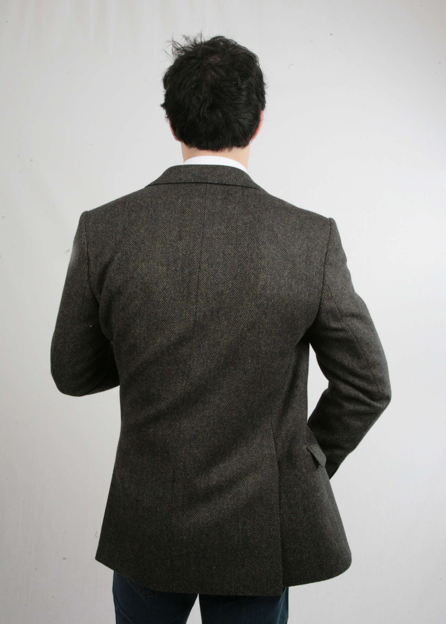 Olive Genuine Tweed