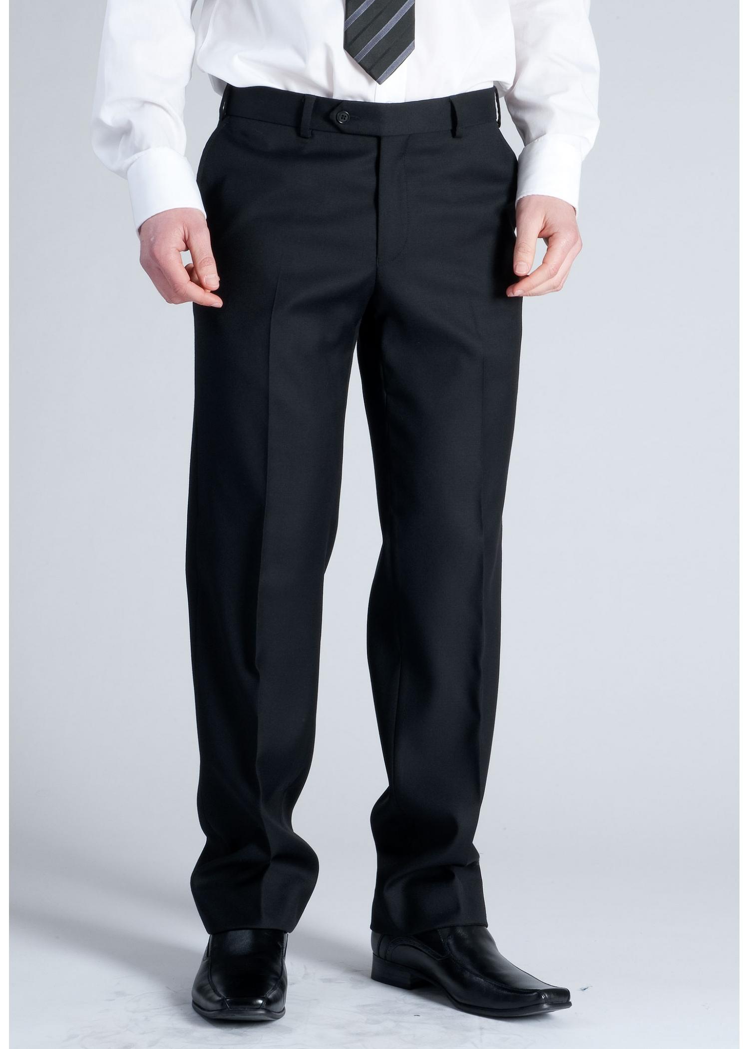 Plain Black Wool Ref:17743t