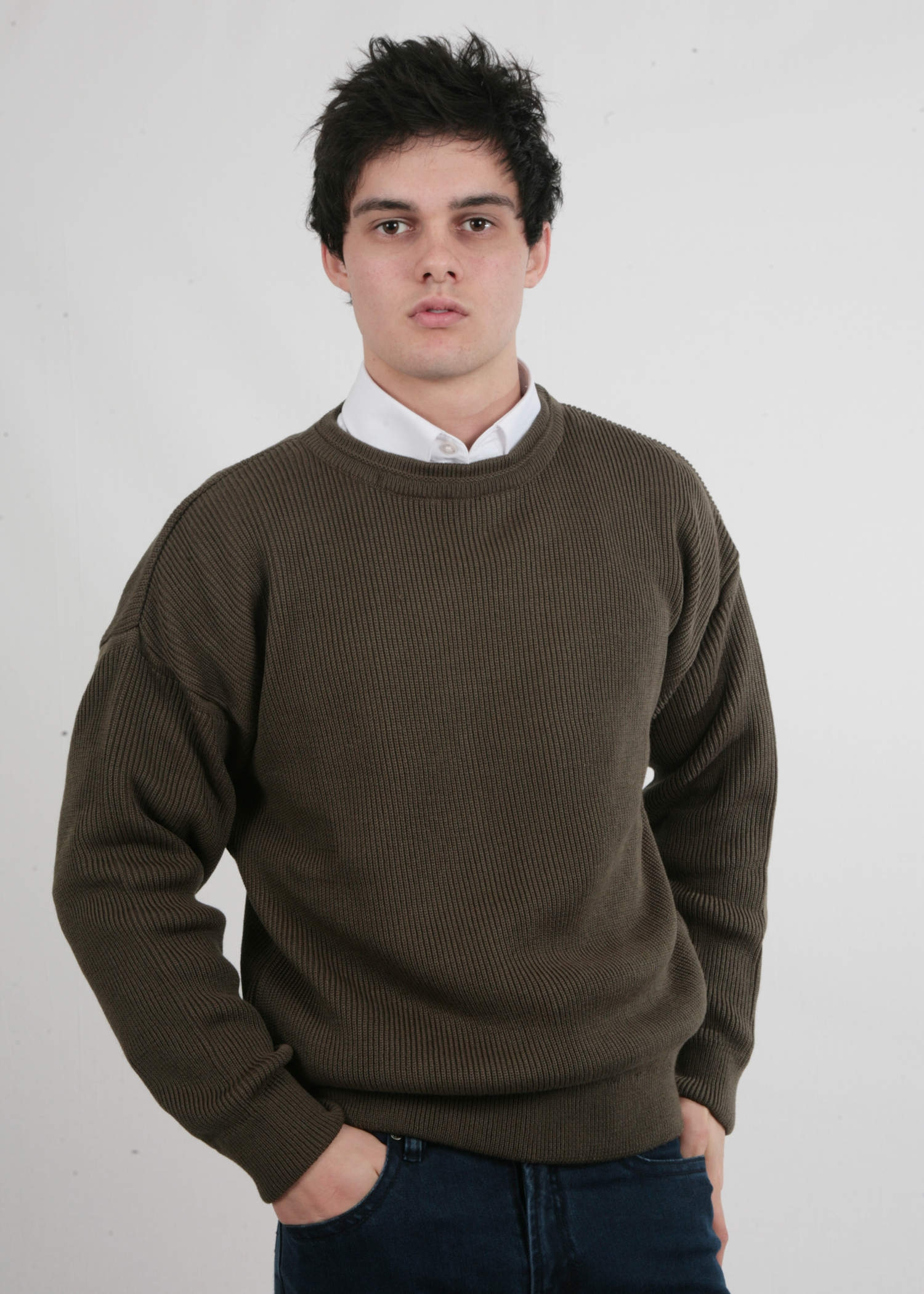 Brown Chunky Jumper