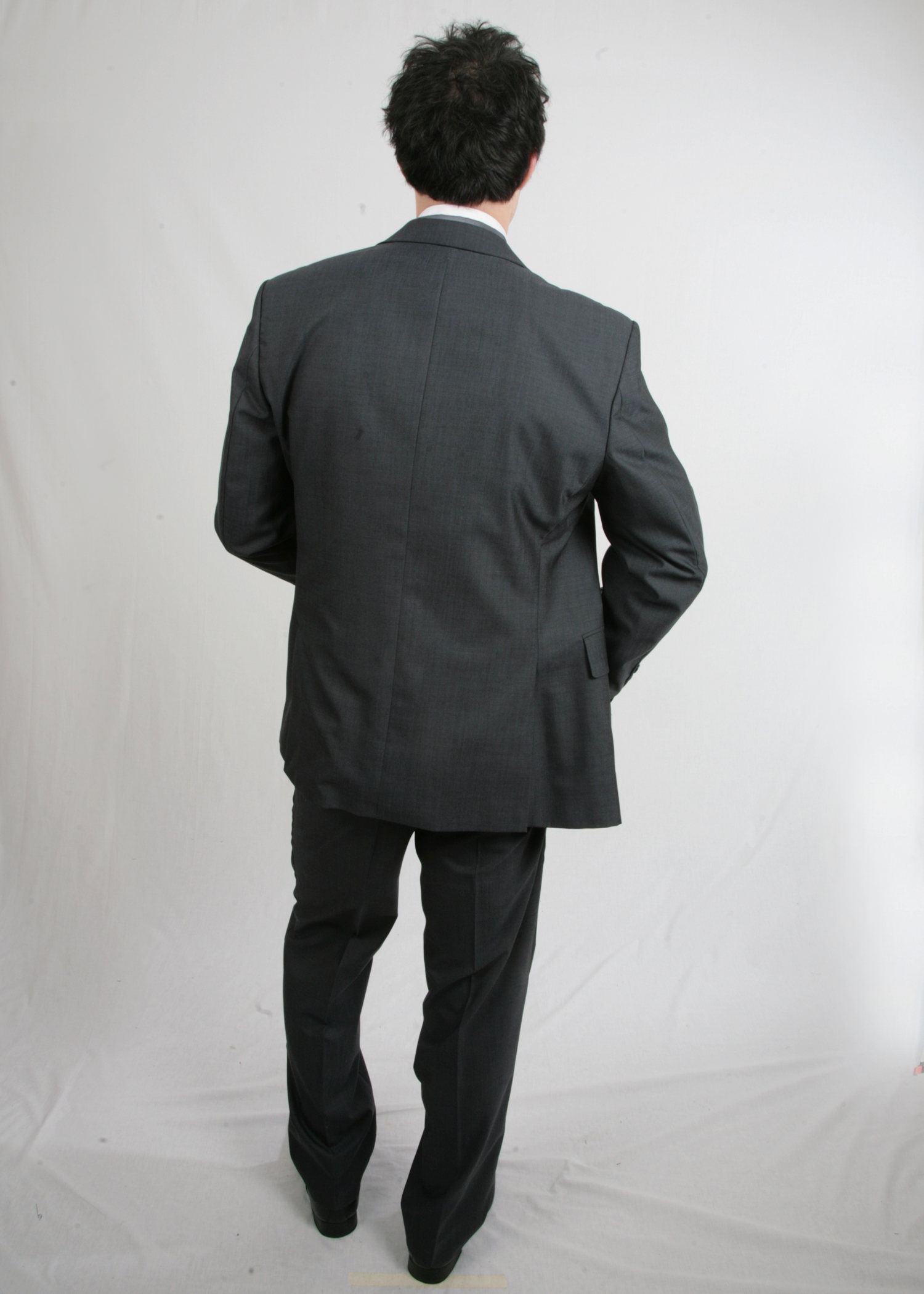 Short Grey Wilvorst Lightweight Suit Hire