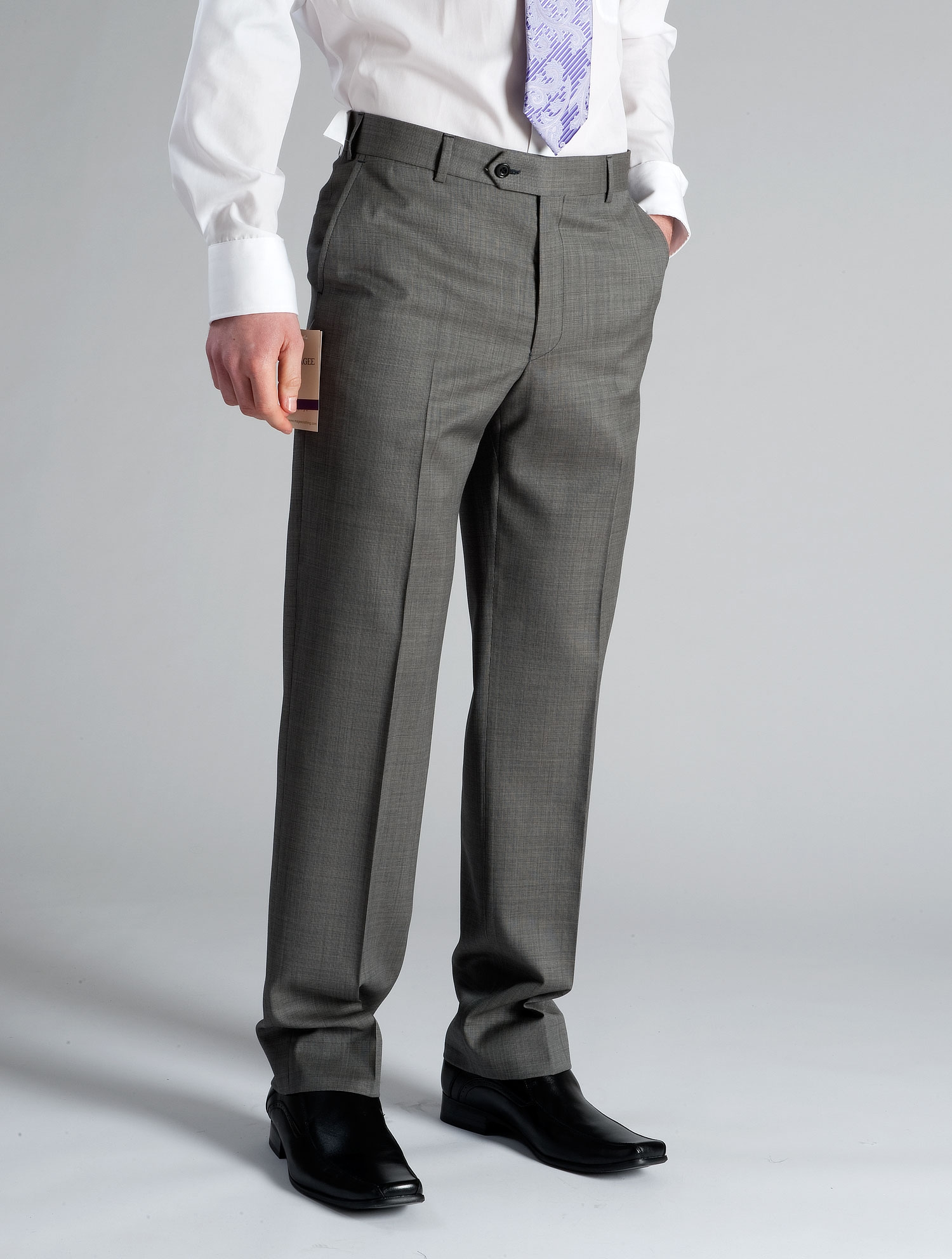 Silver Grey Trousers Ref:19609