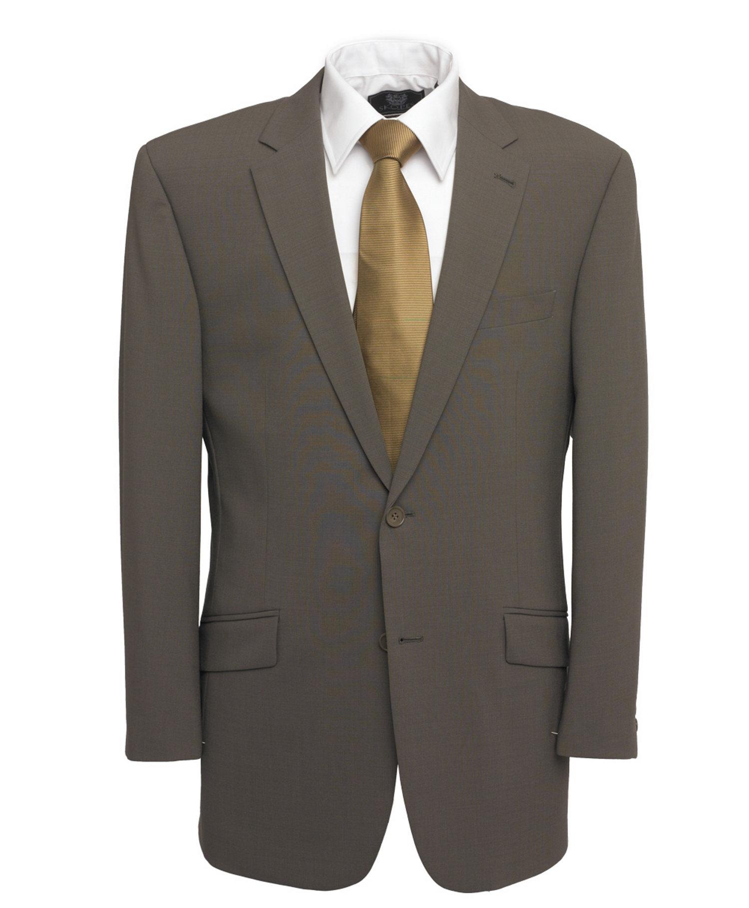 Taupe 3 Piece Suit