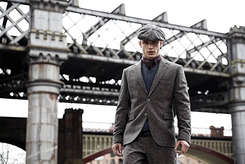Vintage Three piece Tweed suit and cap