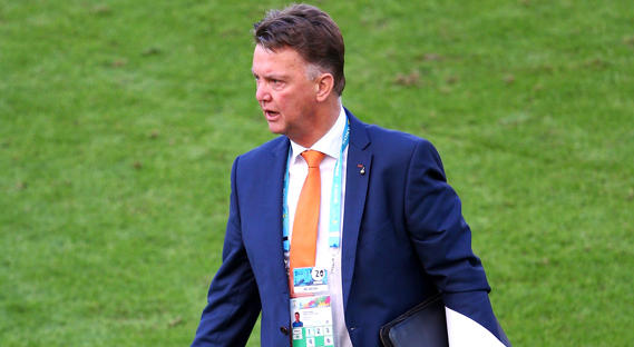 Cobalt Blue Suit worn by Louis Van Gaal at the world cup is available at Tom Murphy Menswear this Summer