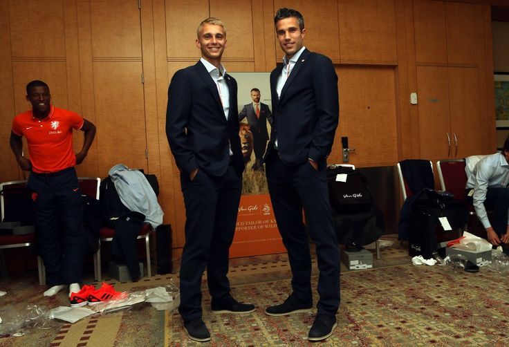 Van Gils worn by Robin Van Persie available at Tom Murphy Menswear