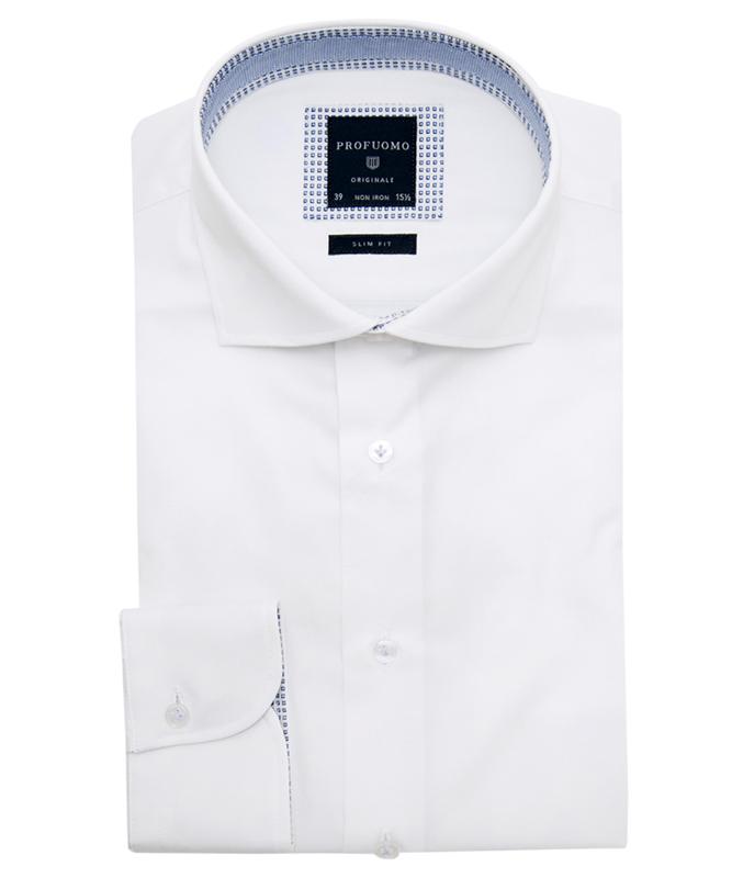 Profuomo White Shirt PPMH1A0051