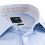 Profuomo Light Blue Striped Shirt PPMH1A0068