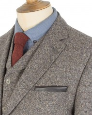 Brown Donegal 3 Piece Suit G14234DNJ2_660_O
