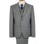 Grey Donegal 3 Piece Suit