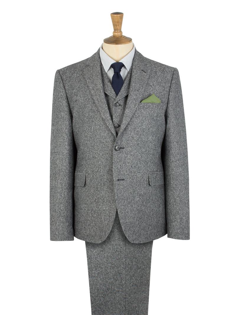 Grey Donegal 3 Piece Suit G15131DNJ