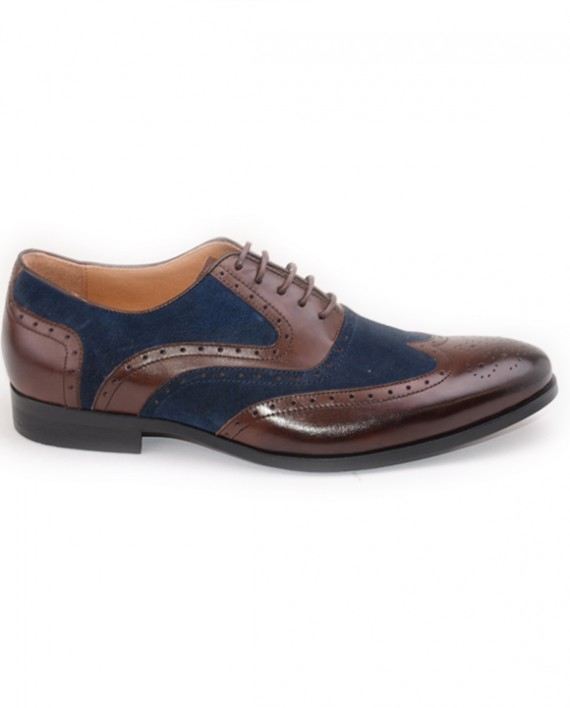 MILLER BROWN BLUE Shoes