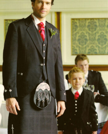 Argyll Jacket with Grey Spirit Kilt