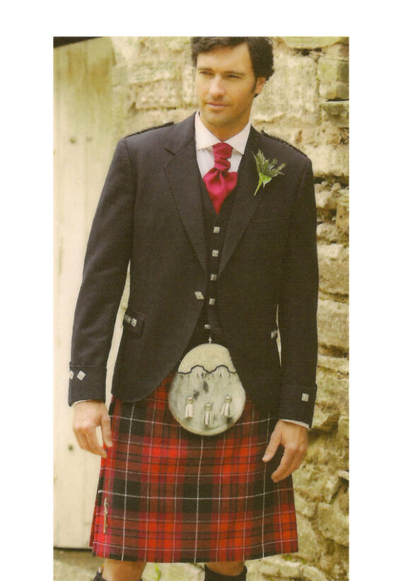 Argyll Jacket with Pride of Wales Kilt