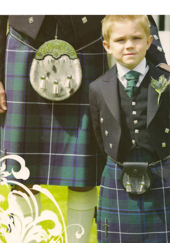 Prince Charlie Jacket with Modern Douglas Kilt
