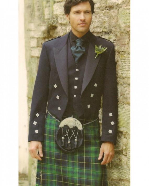 Prince Charlie Jacket with Pride of Ireland Kilt