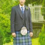 Tweed Argyll Jacket with Ancient MacKenzie Kilt