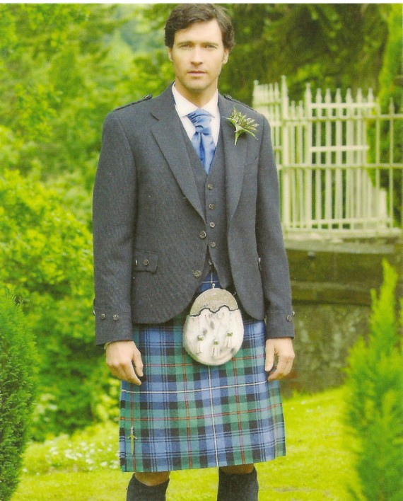 Tweed Argyll Jacket with Ancient Mackenzie Kilt