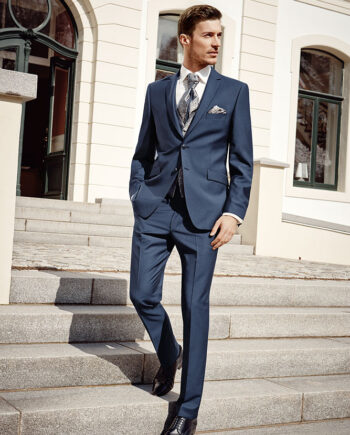 After Six 2016 Azure Blue 3 piece suit