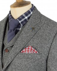 Silver Grey Donegal Tweed Suit G15216DNJ_210_O