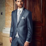 Elegant Radiant Blue 3 piece suit