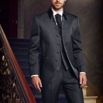 Elegant Black 3 piece suit