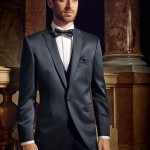 Blue Slim line 3 piece suit