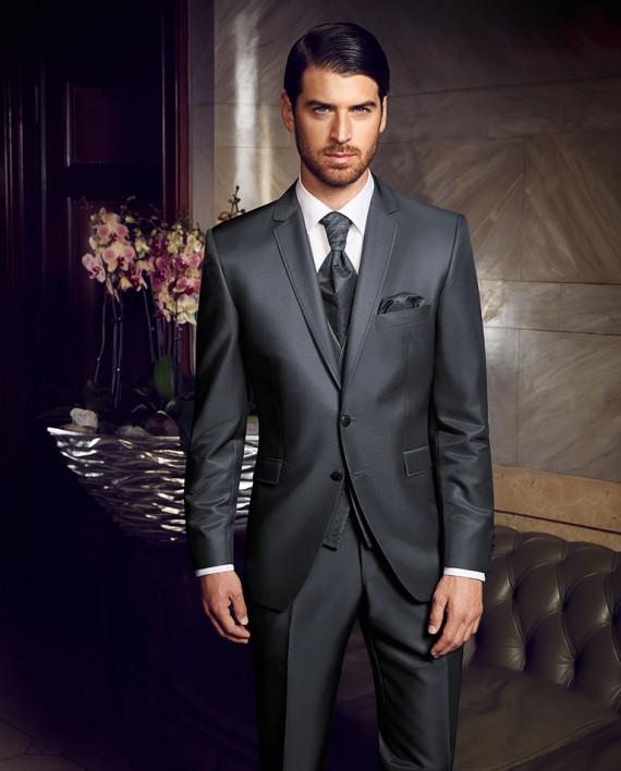 Prestige 2016 Blue Grey 3 piece suit