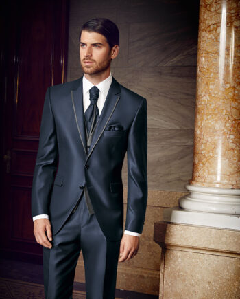 Prestige 2016 Contrast Blue 3 piece suit