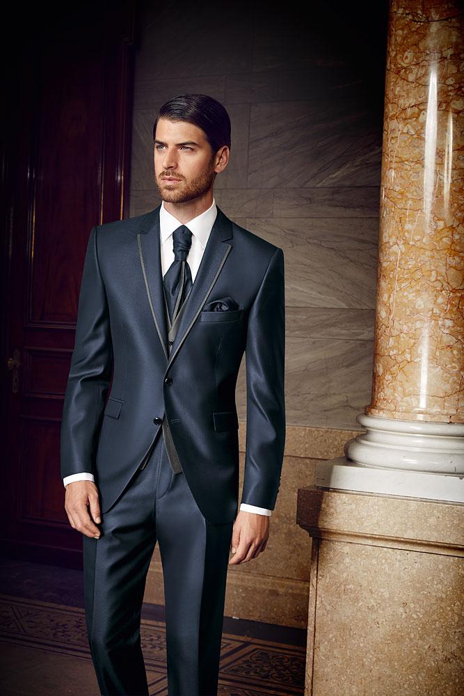 Prestige 2016 Contrast Blue 3 piece suit