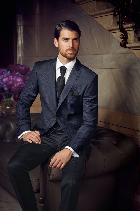 Prestige 2016 Blue Patterned suit