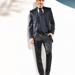 Ethno Patterned 3 piece suit