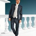 Royal textured 3 piece suit