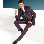 Marsala Red 3 piece suit