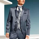 Grey-Blue 3 piece suit