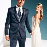 Night-Blue 3 piece suit