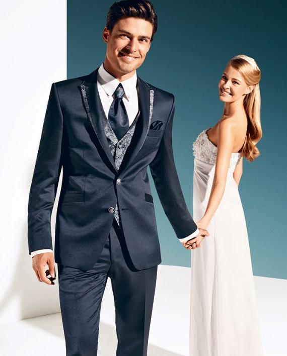 TZIACCO 2016 Night-Blue 3 piece suit