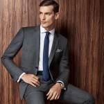 Reda Iron Grey Hopsack Suit