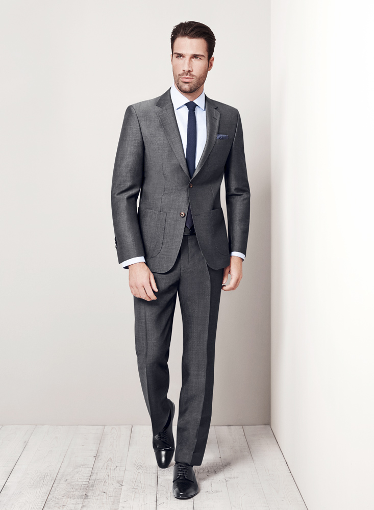 Zegna Grey Suit With Patch Pockets Tom Murphy S Formal