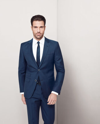 Blue Suit with Ticket Pocket