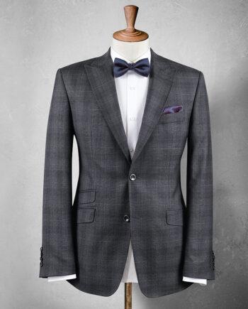 Zegna Grey Check