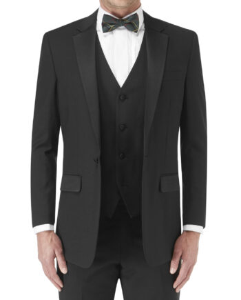 Latimer Suit Black 3pc