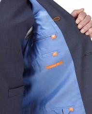 Palmer Suit Blue 3 piece Wedding Suit