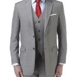 Palmer Suit Silver 3 piece