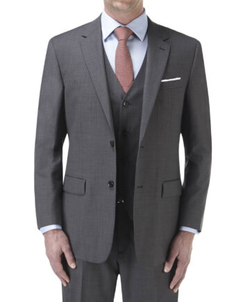Palmer Suit Charcoal 3 piece Wedding Suit