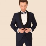 Midnight Blue 3 Piece Tuxedo with Rental Option