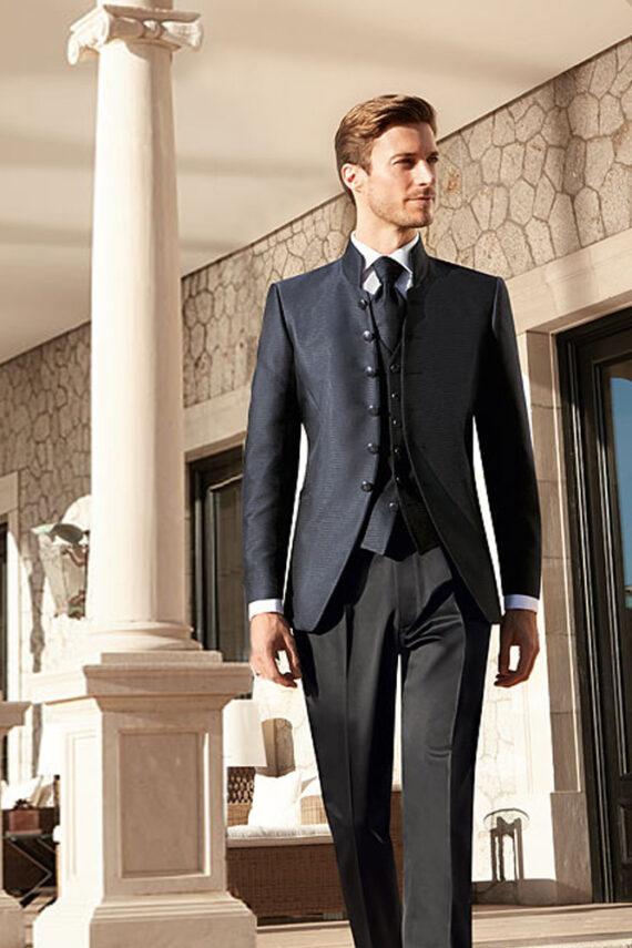 After Six 2017 midnight blue wedding suits