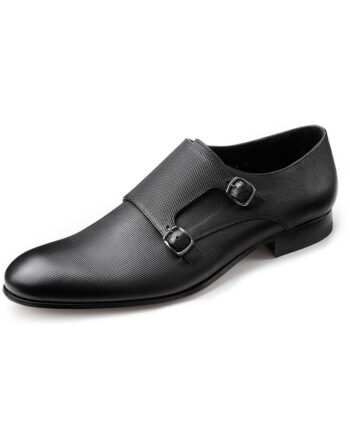 Wilvorst Black buckle shoe 2016_448316-10_Model-0292