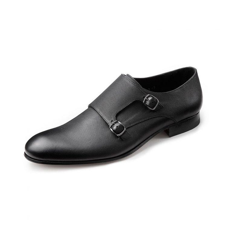 Wilvorst Black buckle shoe 2016_448316-10_Model-0292