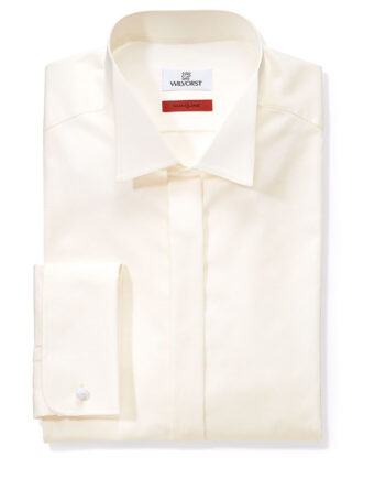 Cream Slimline Shirt
